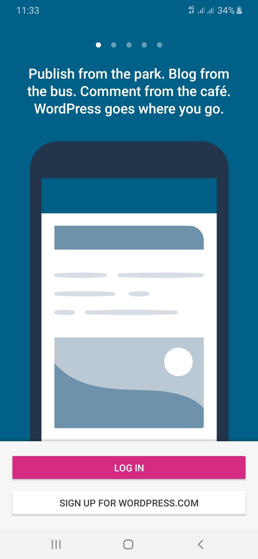 Tutorial Membuat Blog Gratis Di WordPress.com Dengan Ponsel Cerdas Anda