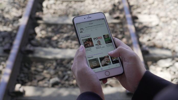 Aplikasi Commuter Menyediakan Jejaring Sosial Berbasis Transportasi Publik