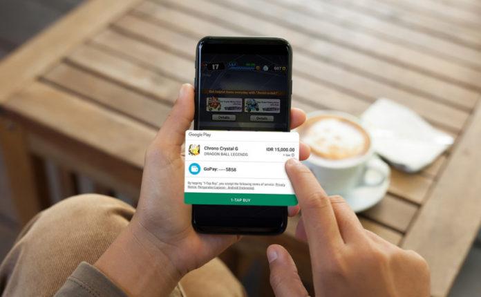 Kini Pembayaran Google Play Bisa Menggunakan Saldo GoPay