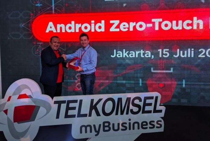 Telkomsel Gaet Google untuk Mempermudah Atur Perangkat Korporat