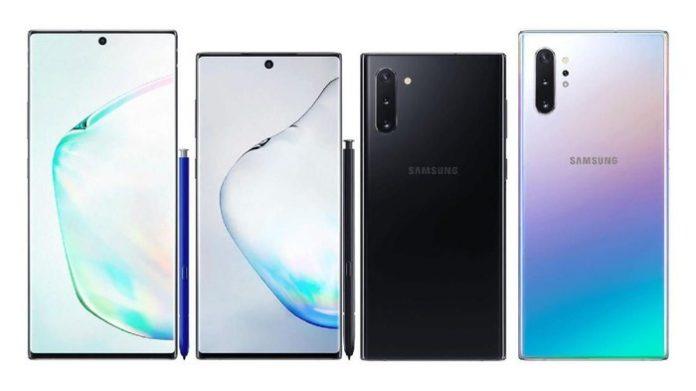 Apakah Ini Spesifikasi Lengkap Dari Galaxy Note 10 & Note 10 Plus, Samsung?