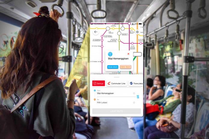 Aplikasi Direktori Cari Aja Meluncurkan Fitur Baru,pengguna Bisa Cari Rute Transportasi Umum