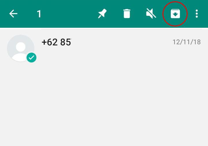 Berikut Cara Menyembunyikan Obrolan Whatsapp