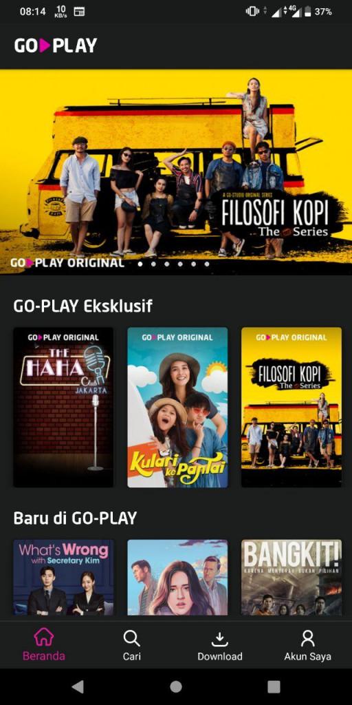 Go-Play Sekarang Menjadi Aplikasi Terpisah Kedua Dari Go-Jek