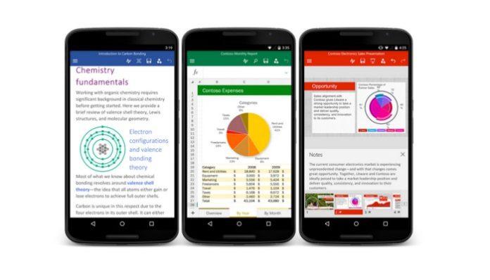 Microsoft Kenalkan Aplikasi Word Khusus Android Yang Telah Mencapai 1 Miliar Unduhan