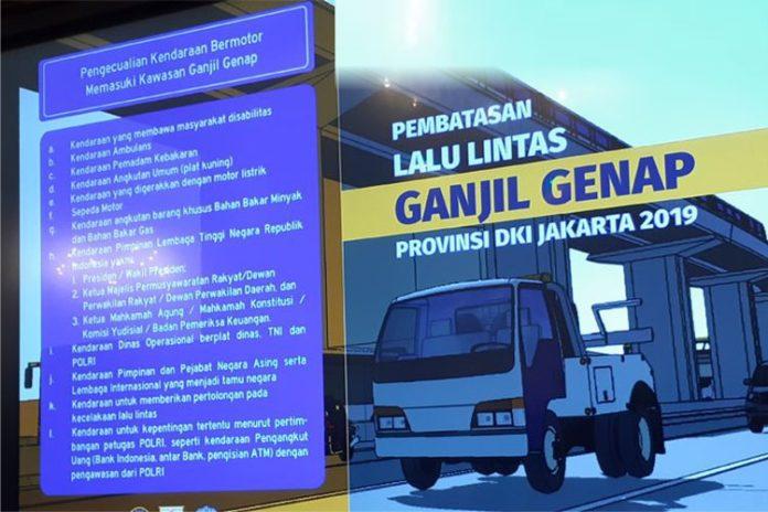Sistem Ganjil Genap Akan Diberlakukan Pada Pintu Masuk Dan Keluar Pada 28 Gerbang Tol