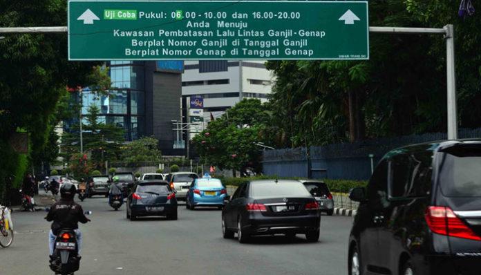 Resmi!!!16 Rute Baru Ganjil-Genap ke Jakarta